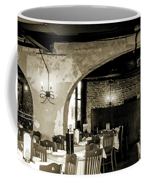 French Coffee Mug featuring the photograph French Country Restaurant 2 by Wayne Archer