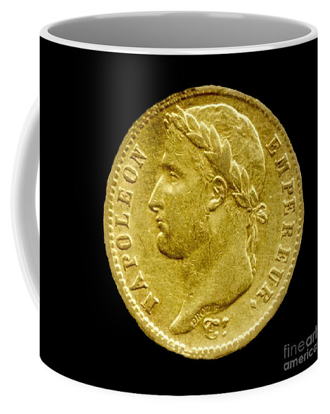 French Coffee Mug featuring the photograph French Franc by Jost Houk