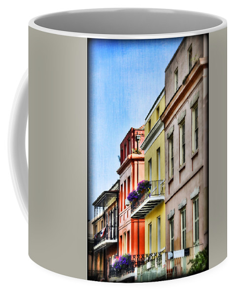 Nola Coffee Mug featuring the photograph French Quarter In Summer by Tammy Wetzel
