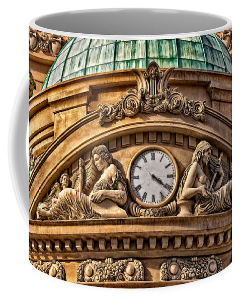 Carving Coffee Mug featuring the photograph French Time by Christopher Holmes