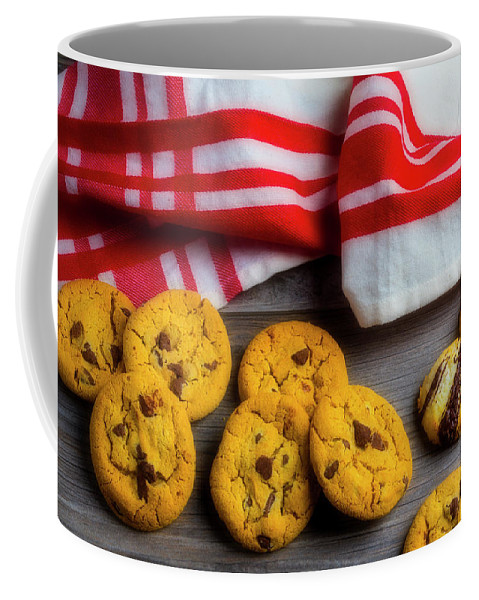 Pile Coffee Mug featuring the photograph Fresh Baked Cookies by Garry Gay