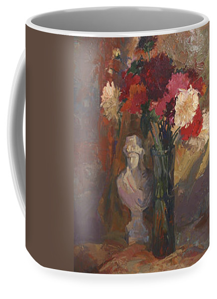 Still Life Coffee Mug featuring the painting Fresh Cut by Betty Jean Billups