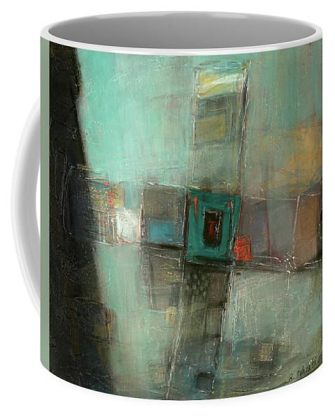 Sketching Coffee Mug featuring the painting Fresh Pattern by Behzad Sohrabi