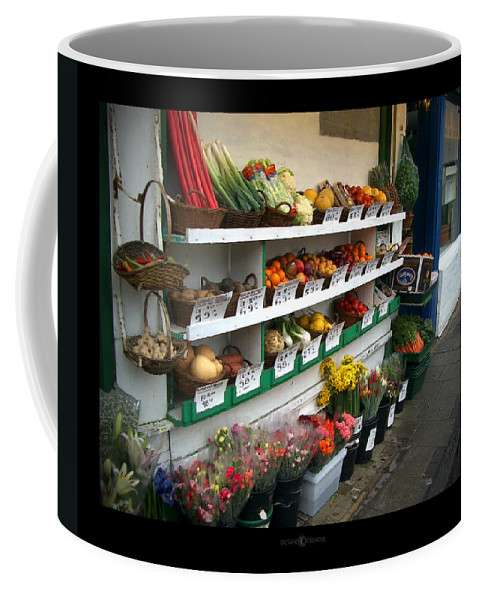 Shaftesbury Coffee Mug featuring the photograph Fresh Produce by Tim Nyberg
