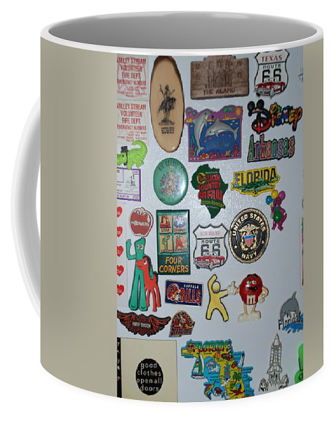 Refrigerator Coffee Mug featuring the photograph Fridge Magnets by Rob Hans