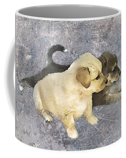 3d Coffee Mug featuring the photograph Friends Forever by Svetlana Sewell
