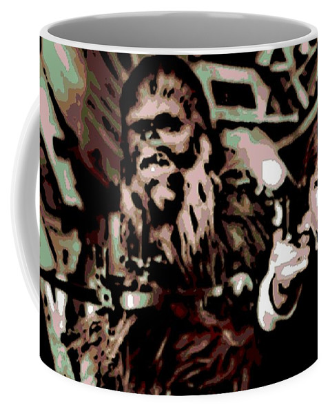 Han Solo Coffee Mug featuring the photograph Friends by George Pedro