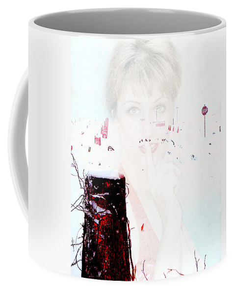 Clay Coffee Mug featuring the photograph Frigid by Clayton Bruster