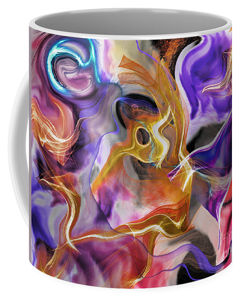 Commotion Coffee Mug featuring the digital art From Beyond by Jim Fitzpatrick