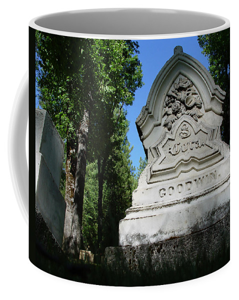 From The Grave Coffee Mug featuring the photograph From The Grave No2 by Peter Piatt