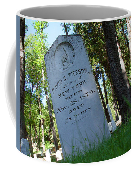 From The Grave Coffee Mug featuring the photograph From The Grave by Peter Piatt
