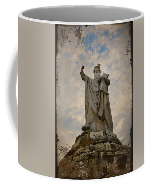 Moses Coffee Mug featuring the photograph From The Mountain On High by Bill Cannon