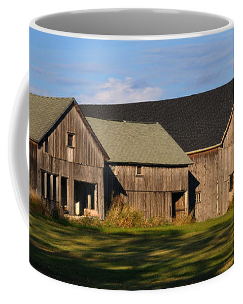 Fall Coffee Mug featuring the photograph From Thy Labors Rest by Tim Nyberg