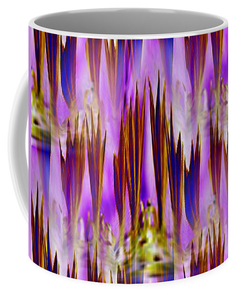 Fronds Coffee Mug featuring the photograph Frond Memories by Tim Allen