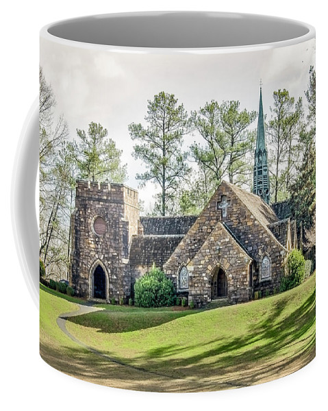 Frost Memorial Chapel Coffee Mug featuring the photograph Frost Memorial Chapel by Tina Cannon