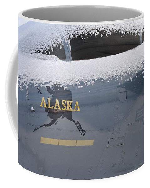 Canopy Coffee Mug featuring the photograph Frosty Canopy by Rick Monyahan