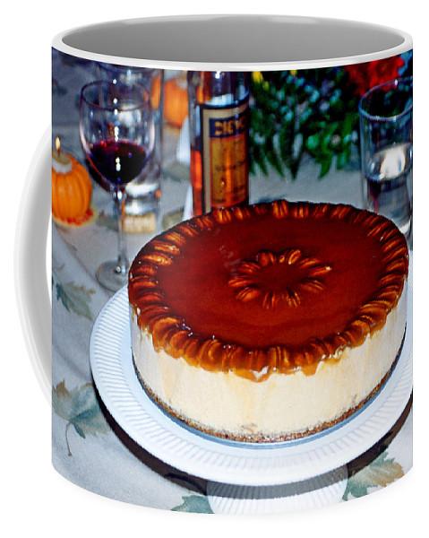 Frozen Coffee Mug featuring the photograph Frozen Pumpkin Mousse Torte by Robert Meyers-Lussier