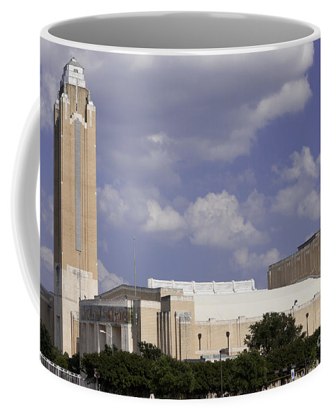 America Coffee Mug featuring the photograph Ft Worth Texas - Landmark by Anthony Totah