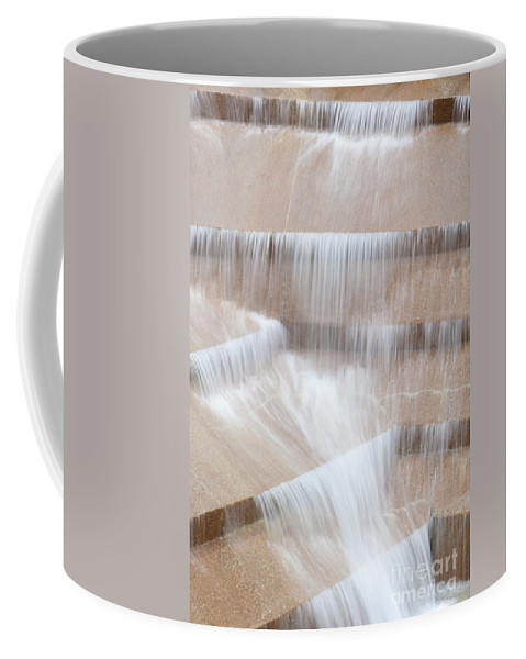 Travel Destinations Coffee Mug featuring the photograph Ft Worth Water Gardens by Anthony Totah
