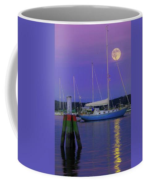 Full Moon Coffee Mug featuring the photograph Full Buck Moon 2016 by Jonathan Steele