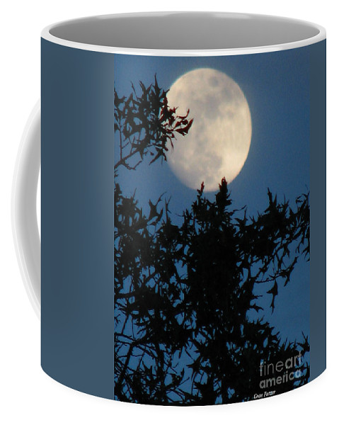 Patzer Coffee Mug featuring the photograph Full Moon by Greg Patzer
