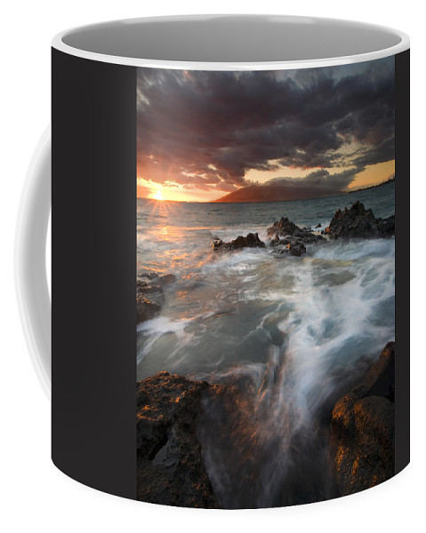 Cauldron Coffee Mug featuring the photograph Full To The Brim by Mike Dawson