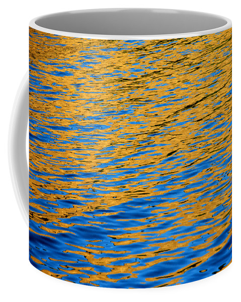 Water Coffee Mug featuring the photograph Fully Involved by Donna Blackhall