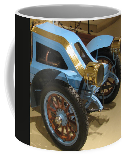 Car Coffee Mug featuring the photograph Fun On Wheels by Kelly Mezzapelle