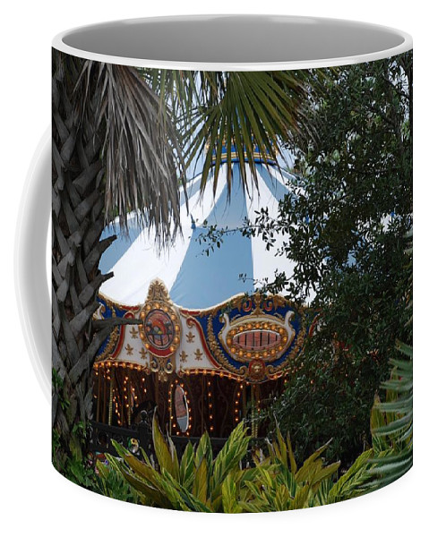 Architecture Coffee Mug featuring the photograph Fun Thru The Trees by Rob Hans