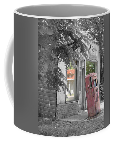 Rural Coffee Mug featuring the photograph Funk's Grove V by Dylan Punke