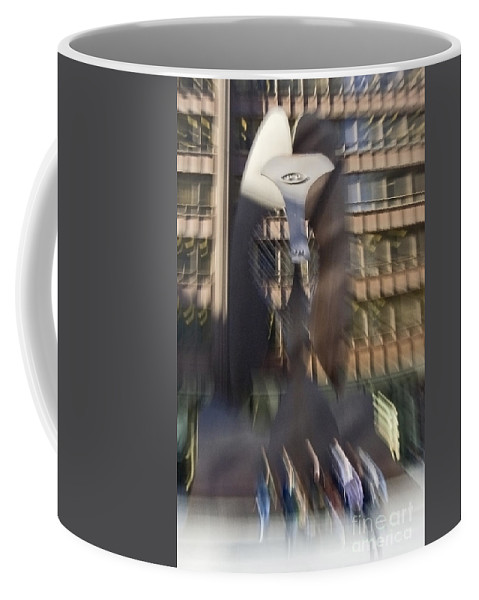 Picasso Coffee Mug featuring the photograph Funky Picasso Sculpture by Sven Brogren