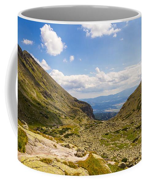 Furkotska Dolina Coffee Mug featuring the photograph Furkotska Dolina by Mirko Chianucci