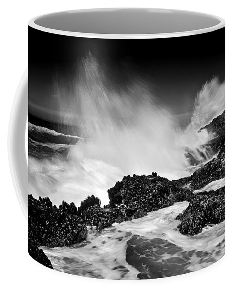 Waves Coffee Mug featuring the photograph Fury by Mike Dawson
