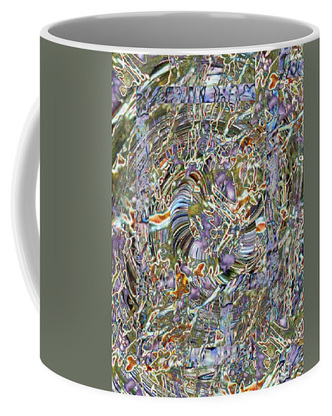 Fused Coffee Mug featuring the photograph Fused by Tim Allen