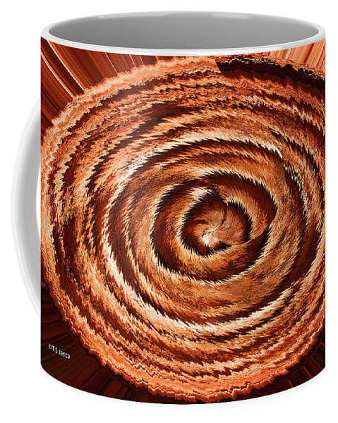 Fuzzy Rock Abstract Coffee Mug featuring the photograph Fuzzy Rock Abstract by Tom Janca