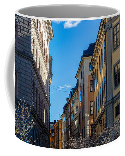 Gamla Stan Coffee Mug featuring the photograph Gamla Stan 2 by Suzanne Luft