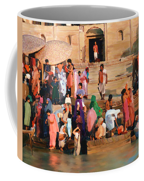 Ganges River Coffee Mug featuring the photograph Ganges by Kurt Van Wagner