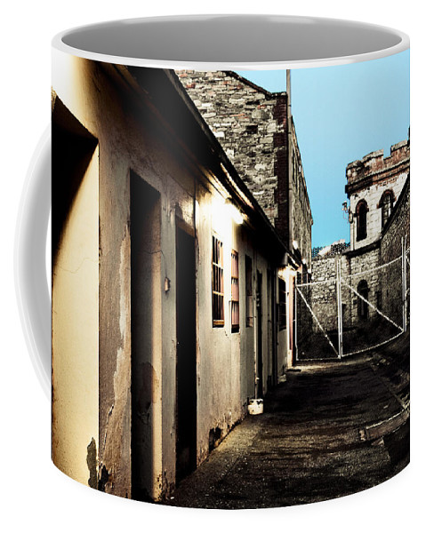 Old Coffee Mug featuring the photograph Gaol by Kelly Jade King