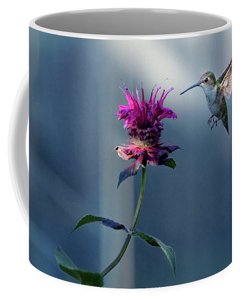 Hummingbird Coffee Mug featuring the photograph Garden Jewelry by Everet Regal