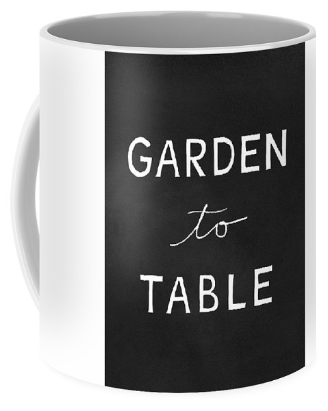Garden To Table Coffee Mug featuring the mixed media Garden To Table- Art By Linda Woods by Linda Woods