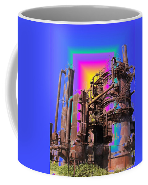 Seattle Coffee Mug featuring the photograph Gasworks Park 3 by Tim Allen