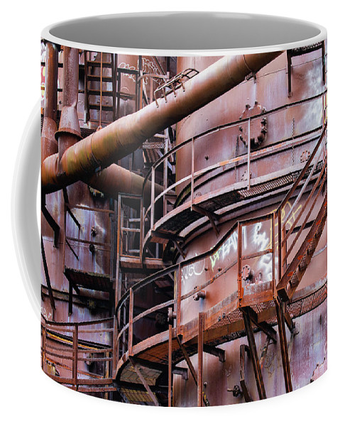 Seattle Coffee Mug featuring the photograph Gasworks Park by Jerry Fornarotto