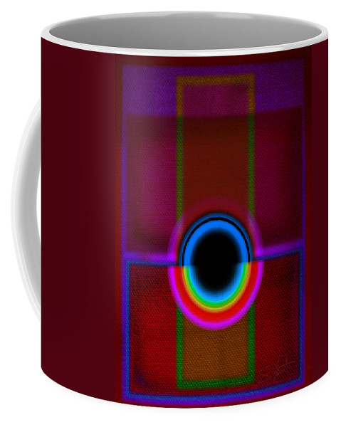 Portal Coffee Mug featuring the painting Gate by Charles Stuart