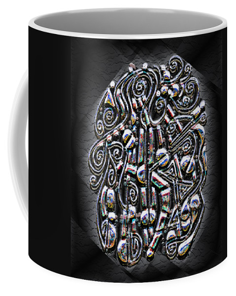 Surrealism Coffee Mug featuring the digital art Gate To Mystery by Mark Sellers
