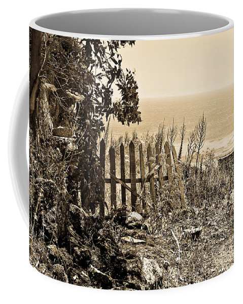 Mediterranean Sea Coffee Mug featuring the photograph Gateway To The Mediterranean by Madeline Ellis