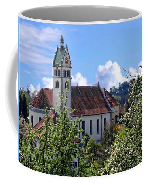 Gallus Coffee Mug featuring the photograph Gattnauer Parish Church by Anthony Dezenzio