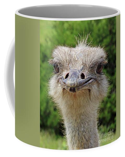 Australian Coffee Mug featuring the photograph G'day Mate by Rebecca Morgan