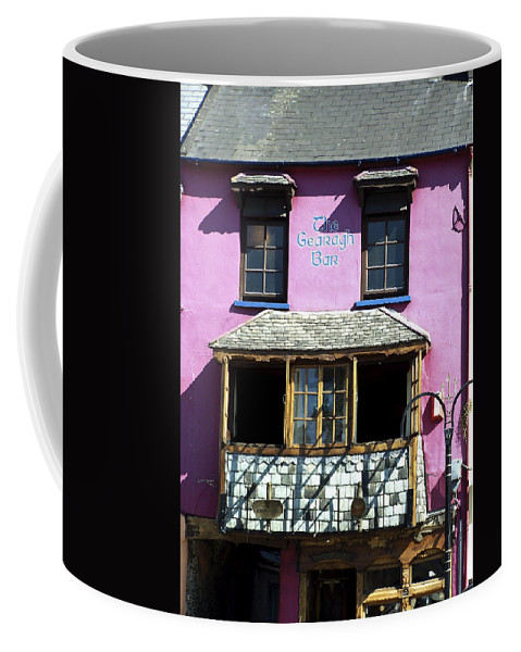 Irish Coffee Mug featuring the photograph Gearagh Pub In Macroom Ireland by Teresa Mucha