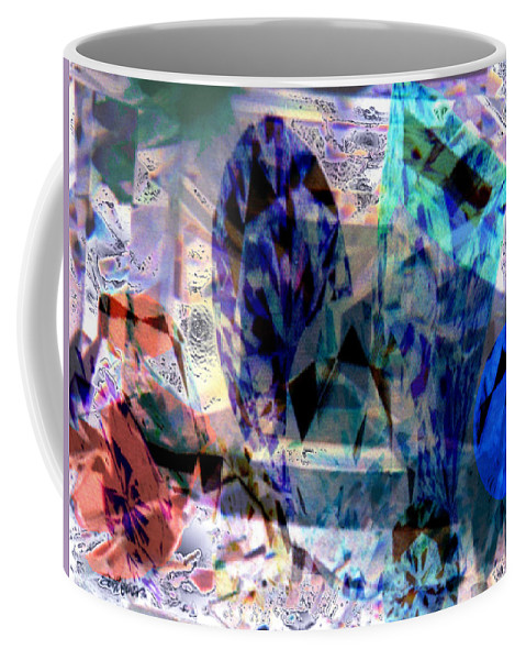 Abstract Coffee Mug featuring the photograph Gems Of Ice by Seth Weaver