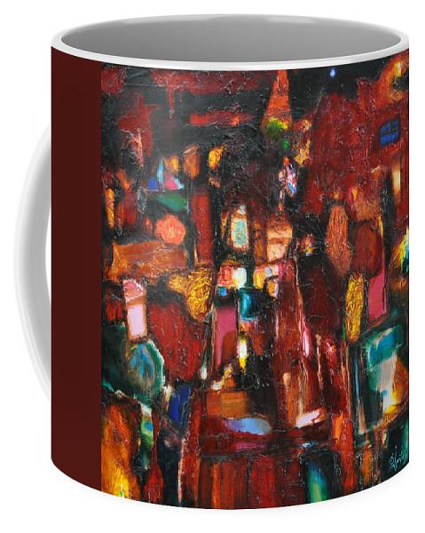 Ignatenko Coffee Mug featuring the painting Gems by Sergey Ignatenko